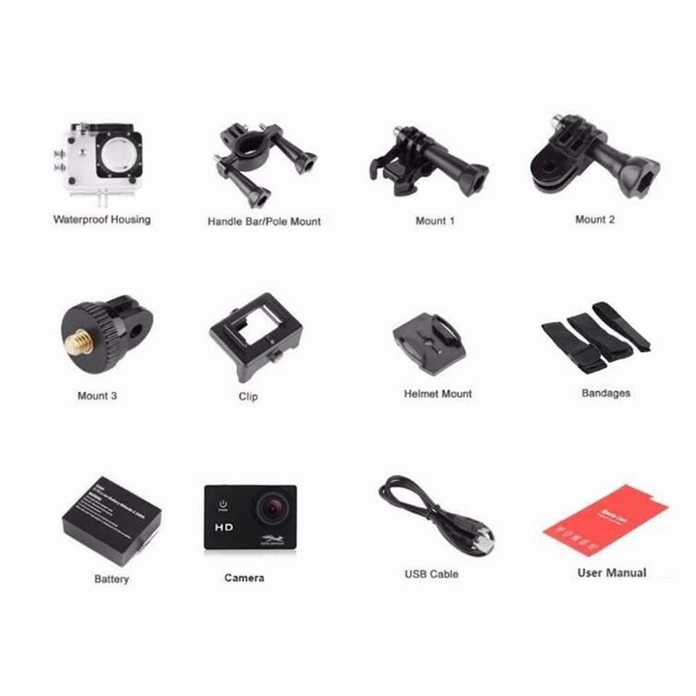 Robot Cámara SJ4000 deportes Cámara 1080P al aire libre montar Cámara Puqing 2,0 pulgadas grabador de conducción