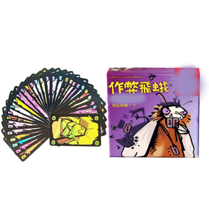 Cheating Moth Board Game 3-5 Players Family/Party Best Gift For Children Box Game Entertainment
