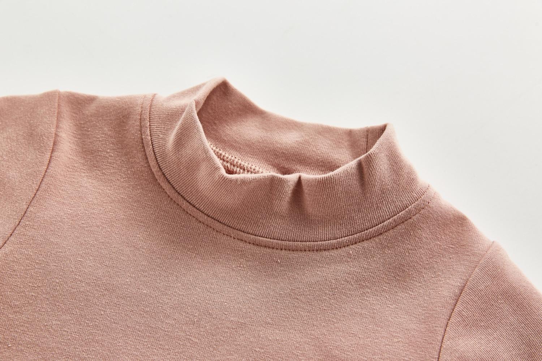 2020 Baby Autumn Clothing Newborn Baby Boy Girl Long Sleeve Tops T-shirt Baby Clothes Kids Solid Sweatshirts 6