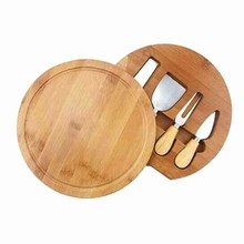 Cheese-Knives-Set Cutter Bamboo-Board Spatula Wood-Handle Stainless-Steel with 4pcs Mini