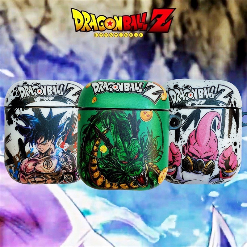 Dragon Ball Soft Case For Apple Airpods 1 2 3 Pro Case Cover Silicone Headphone Cases Box For Airpod Bluetooth Earphone Case IMD