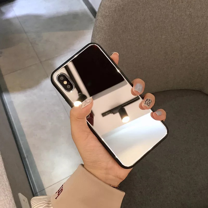 Mirror Silicone Phone Case With High Quality Material for HUAWEI P20 P30 P40 Lite 4