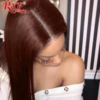 13X6 Lace Front Human Hair Wigs 360 Lace Frontal Wig RXY Remy Straight Lace Front Wig 180 Density Human Hair Wigs M Ratio