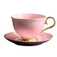 פנום פן יש קרמיקה קפה ותחתית סט אחר הצהריים תה כוס אוהבי מתנות-בערכות של כלי קפה מתוך בית וגן באתר