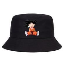 2020 novo anime panamá balde chapéu das mulheres dos homens verão dos desenhos animados balde boné bob chapéu hip hop pesca pescador chapéu