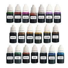 20 Pcs/set 20 Color UV Resin Pigment Liquid Epoxy Dye DIY Ar