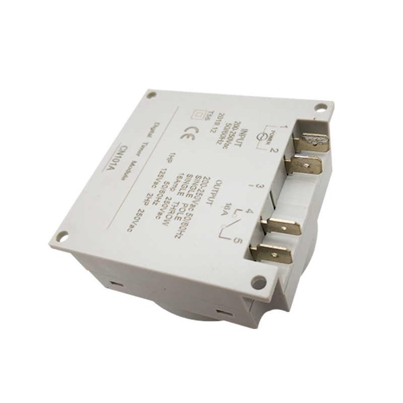 CN101A 12 V/24 V/110 V/220 V Singolo e doppio conto alla rovescia micro tempo di ciclo di controllo interruttore di controllo del timer secondi controllo 16A
