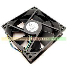 Delta aub0912vh 9025 12v 0.60a 9 cm/cm 4 pinos pwm ventilador de refrigeração de controle de temperatura