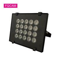 20 piezas LED IR de visión nocturna para cámara CCTV, iluminación de relleno de CCTV de CA de 220V, iluminación led de relleno de CCTV, 850nm
