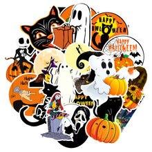 10/50 pçs à prova dwaterproof água halloween demônio kawaii adesivo decoração notebook adesivos scrapbooking diário diy halloween graffiti