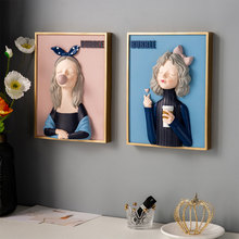 Modern Interior Decoration For Home Girl Bedroom Decoration Wall Paintings Anime Decor Art Wall Decor Living Room Decoration