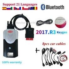 2021 Vd DS150E Cdp Beste Nieuwe Vci Obd2 Obdii Diagnostic Tool Met Bluetooth Scanner Tool Auto Vrachtwagen Vd Tcs Cdp pro Plus Voor Delphis