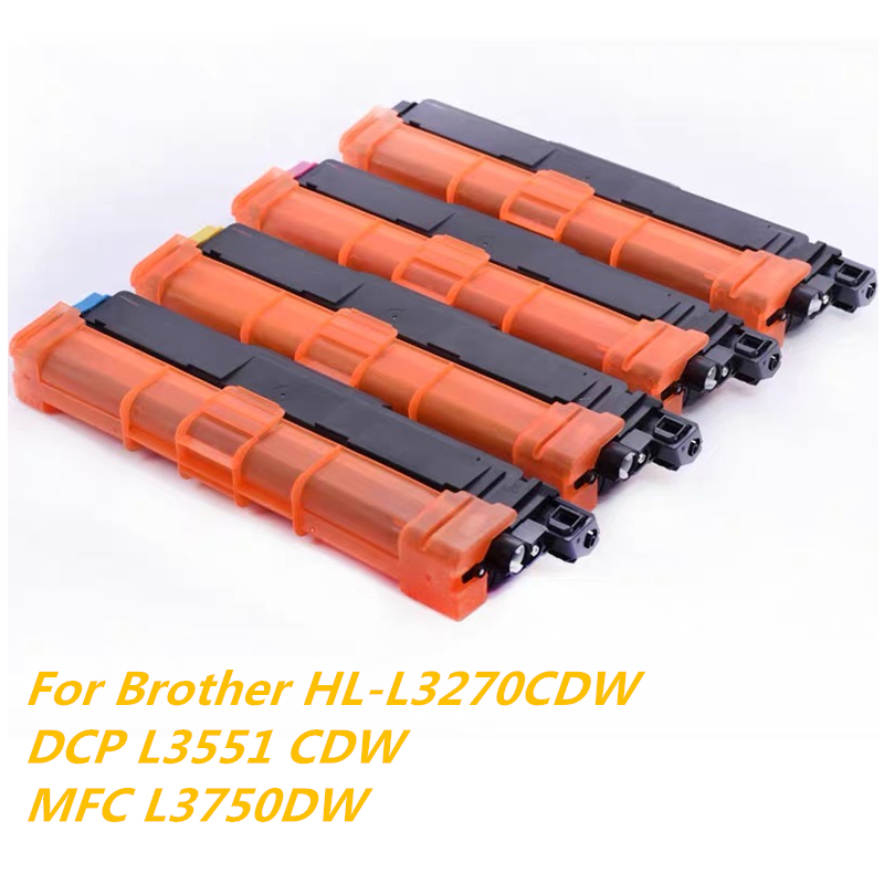 Compatible Brother TN-217 TN 263 Toner 3000 Pages High Yield For Brother HL-L3270CDW DCP L3551 MFC L3770DW Printer Cartridge Kit