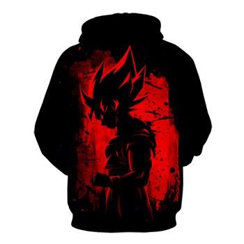 Bragon ball Z Super Saiyans Hoodie Men Son Goku 3D Hoodies Male Female Harajuku Anime Super Instinct Goku Print Sweatshirts Coat 2