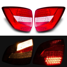 2 Pcs Car Styling Accessories led tail light for Lada granta 2190  with turn light  LED Rear Running Lights