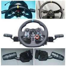 Simulador De carreras para G29 G27 T300 T500 GT EuroTruck, faros giratorios para juegos, sensible, prácticos