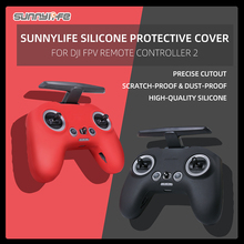 Sunnylife Silicone Protective Cover Sleeve Scratch-proof Accessories for DJI FPV Remote Controller 2
