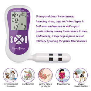 Image 3 - FDA CE approv Electronic Pelvic Toner Stimulato trainer kegel exerciser therapy Incontinence for Body Beauty Woman Health care