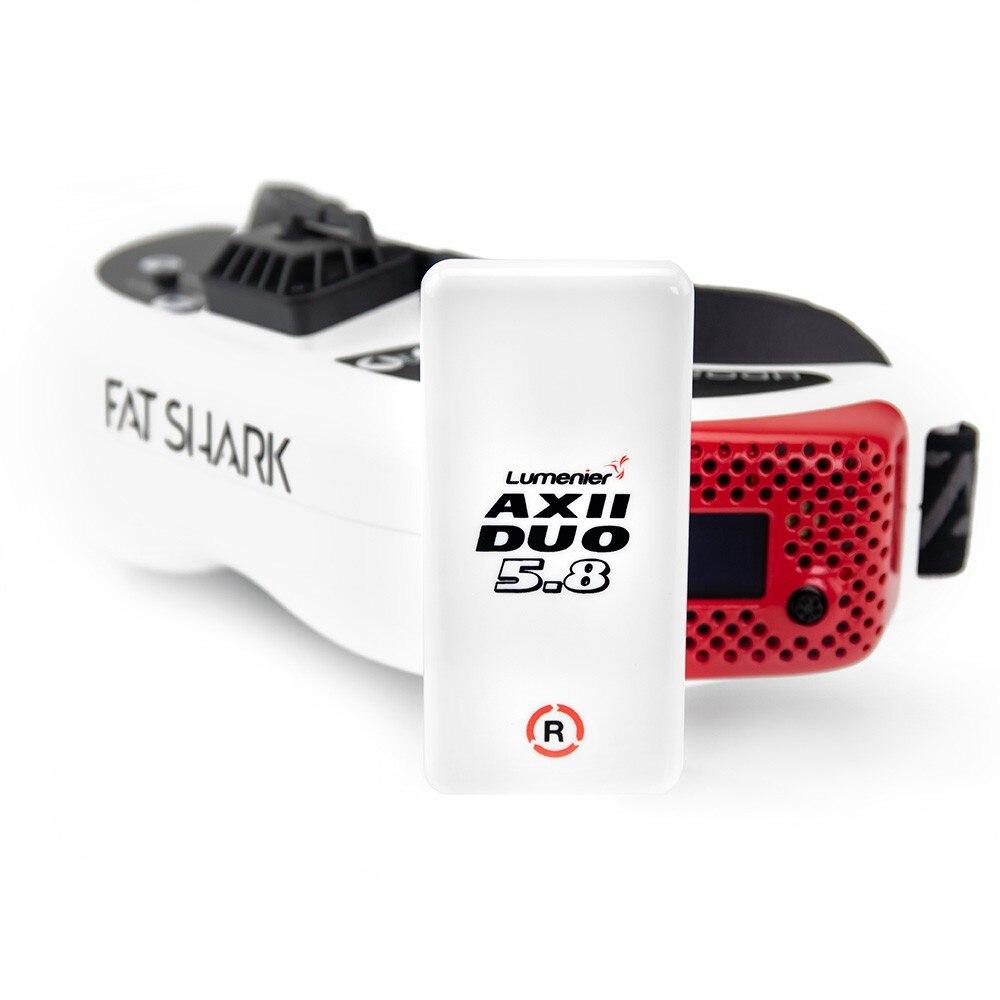 Lumenier AXII DUO High Gain 5.8GHz 12.2 DBiC FPV Antenna RHCP For Fatshark EV200D FPV Goggles FPV RC Racing Drone Models