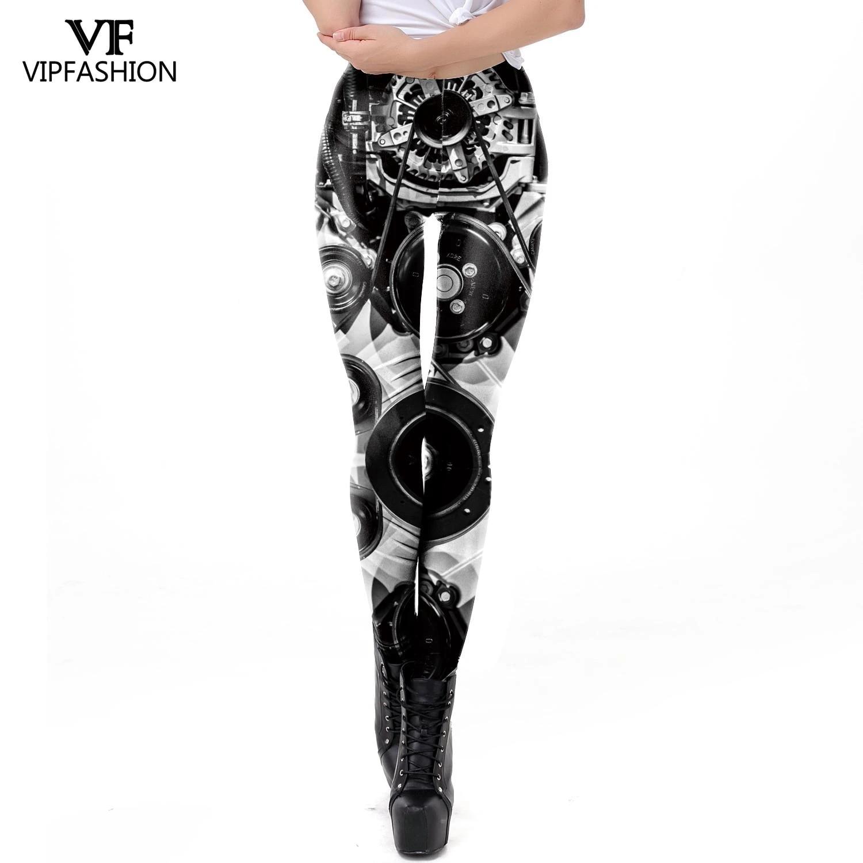 Punk Printing Skinny Legging