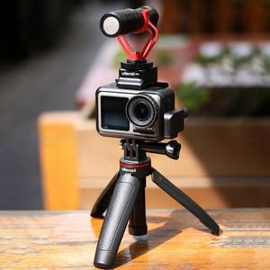 Image 4 - Ulanzi MT 09 Kéo Dài Gopro Vlog Chân Máy Mini Di Động Chân Máy Cho Gopro Hero 9 8 7 6 5 Màu Đen Phiên Osmo camera Hành Động