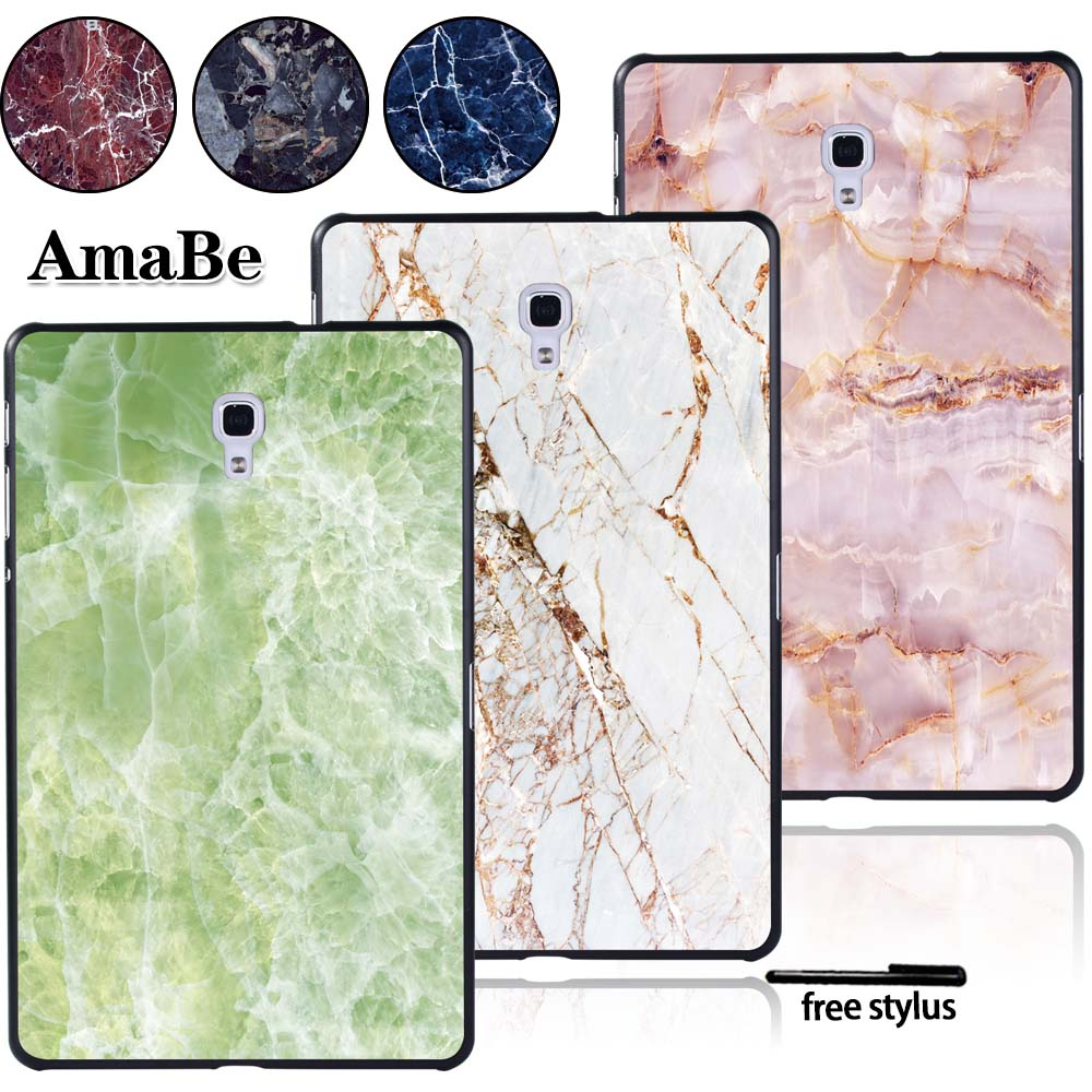 Hard Shell Tablet Case For Samsung Galaxy Tab A T590 T595 10.5 Inch -Marble Case Cover Tablet Accessories