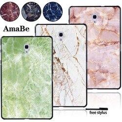 Coque rigide pour tablette Samsung Galaxy Tab A T590 T595 10.5 pouces-housse en marbre accessoires pour tablette