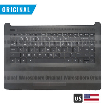 New Original Palmrest for HP Pavilion 14-CK 14T-CM000 14-ck0002TU 14-dg0000TU Top Cover Upper Case with US Keyboard L23241-001