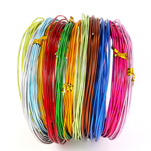 2-10M/Roll Soft Anadized Metal Aluminum Wire Versatile Painted Handmade Craft Floristry Wires For DIY Earrings Jewelry Makings