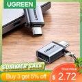 Ugreen USB Typ C zu USB 3,0 Adapter Thunderbolt 3 Typ-C Adapter OTG Kabel Konverter Für Macbook pro air Samsung S10 S9 USB OTG