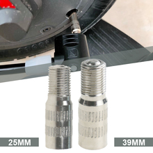 25/39mm Tire Valve Extension Screw On Inflation Valve Stem Extender Adapter Replacement for Xiaomi M365/Pro Scooter Accessories