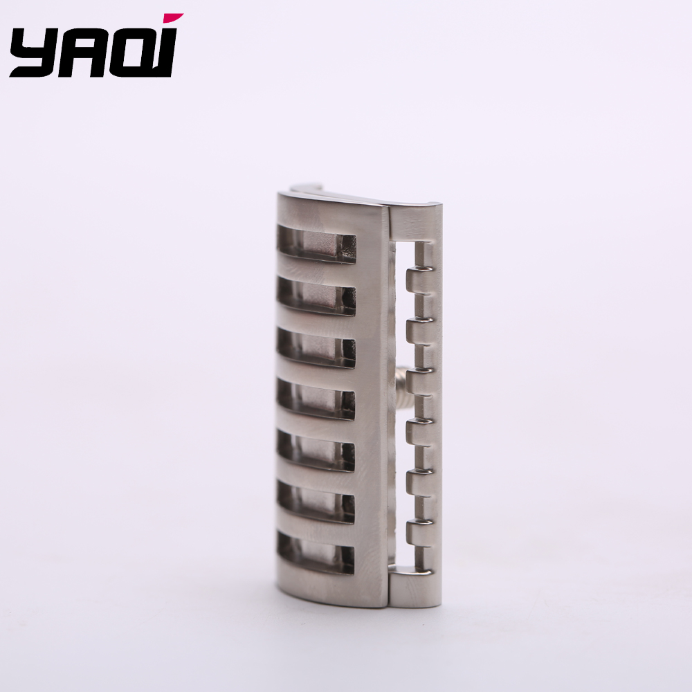 Yaqi Matte Nickle Color  KNIGHT-HELMET Safety Razor Head  For Shaving Razors