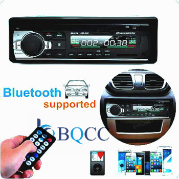 Phone Charger 1din Autoradio Car Radio Bluetooth Stereo Player AUX-IN MP3/FM/USB In-Dash Audio Remote Control subwoofer image
