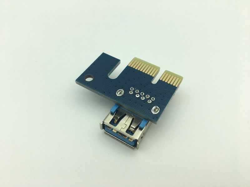 الناهض بطاقة PCI-E 1X إلى 16X الرسومات تمديد كابل التعدين تمديد خط USB 3.0 PCI بطاقة Express ل BTC التعدين دروبشيبينغ