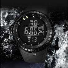 цена Men Sports Watches Waterproof Digital LED Military Watch 2019 New Fashion Casual Brand for Men Fashion Electronics Wrist Watches