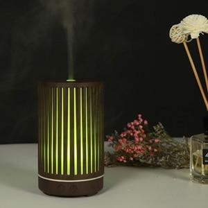 Image 4 - NMT 055 200 мл светодиодный ночной Светильник Воздухоочистители полый цилиндр для дома увлажнитель воздуха Эфирное масло Арома диффузор дропшиппинг