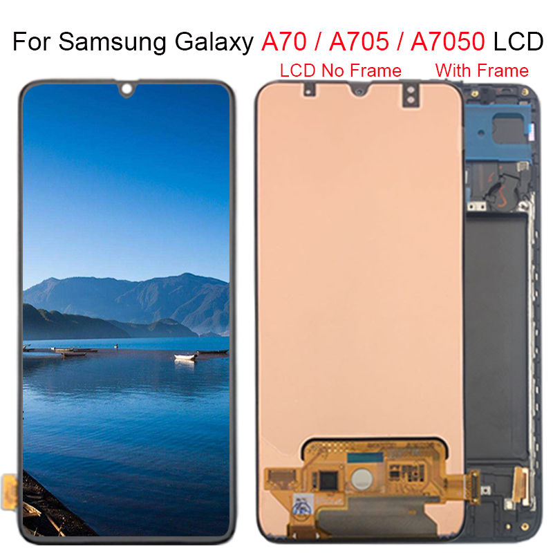 6 7 For Samsung Galaxy A70 Lcd A705 A705f Sm A705f Display Touch Screen Digitizer Assembly A70 2019 For Samsung A70 Lcd Mobile Phone Lcd Screens Aliexpress