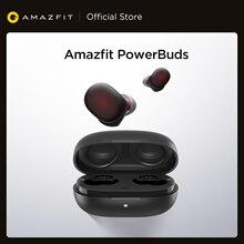 Amazfit-auriculares intrauditivos inalámbricos PowerBuds TWS, con control del ritmo cardíaco, Bluetooth, IP55, para teléfonos iOS y Android, 2020