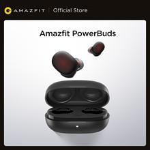 2020 nuovo Amazfit PowerBuds TWS cuffie Senza Fili In-Ear auricolari IP55 Monitor di frequenza cardiaca di Bluetooth Per iOS Android Phone