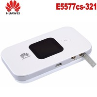 Huawei E5577 4G LTE Cat4 e5577 3211500mAh Mobile Hotspot Wireless Router wifi pocket mifi dongle PK e3276 e5776 e5577c e5573