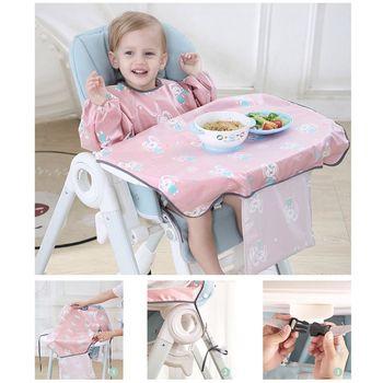 High Quality Newborns Bib Table Cover Baby Dining Chair Gown Waterproof Saliva Towel Burp Apron Food Feeding Accessories