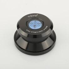 ויבורג LP320B שיא משקל מייצב LP דיסק מייצב פטיפון ויניל מהדק HiFi פרימיום Audiophile כיתה ויניל רטט