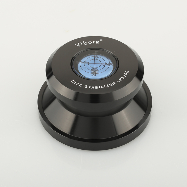VIBORG LP320B Record Weight Stabilizer LP Disc Stabilizer Turntable Vinyl Clamp HiFi Premium Audiophile Grade Vinyl Vibration