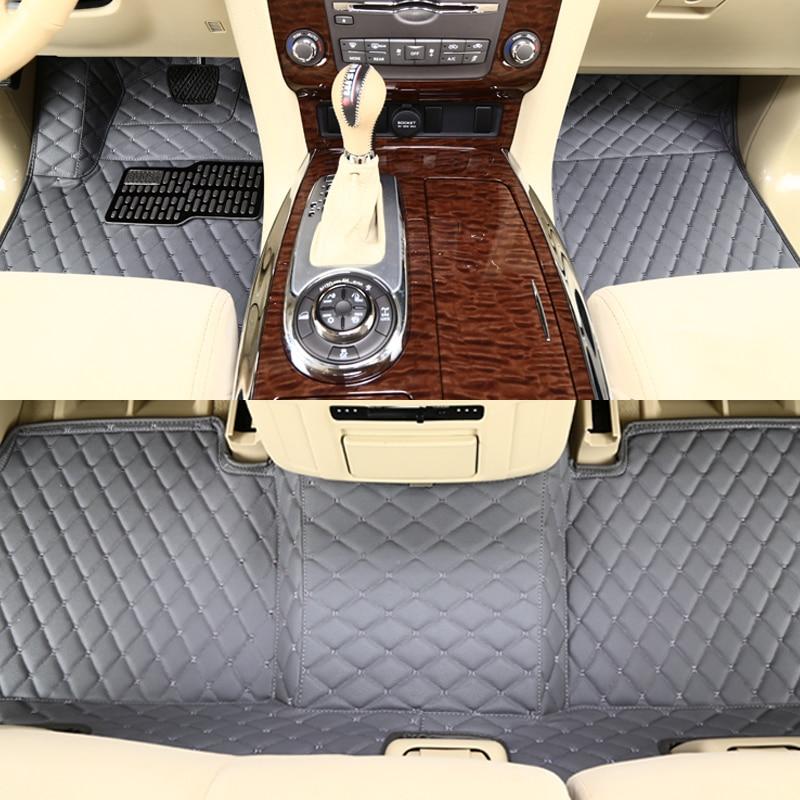 Boost Tapis De Sol De Voiture Pour Audi A6 2007 2008 2009 2010 2011 Imperméable À L'eau Personnalisé D'automobile 3d Patins