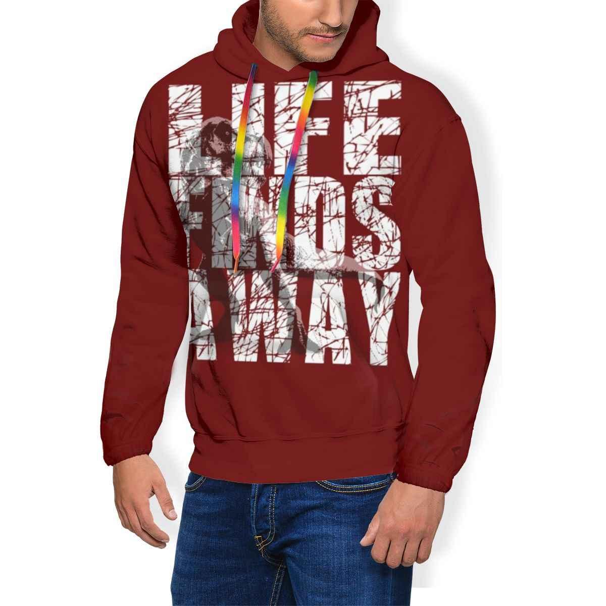 Jurrasic ХУДИ С Логотипом Группы Линкин Парк s Уличная одежда синий пуловер толстовка теплая длинная Мужская большая популярная Толстовка