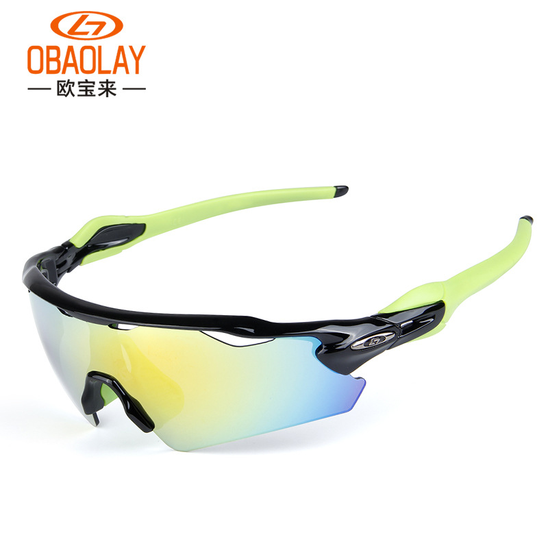 Ob Lai Radar EV Outdoor Men And Women Sports Glasses For Riding Windproof Sand Polarized Light Eye Protection Goggles