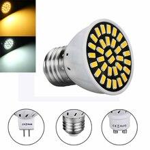 Светодиодный прожектор лампы 220V 110V E27 GU10 MR16 Точечный светильник SMD5733 18/24/32 светодиодный s Точечный светильник Светодиодный лампа для кухни домашний Декор Светильник Инж