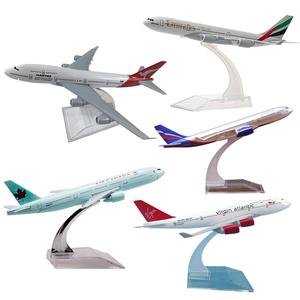 16 CM Airbus A320 A330 A340 A380 Boeing B737 B747 B777 B787 Airplanes Plane Model Diecast Aircraft Toys Airliner Model Kids Gift(China)