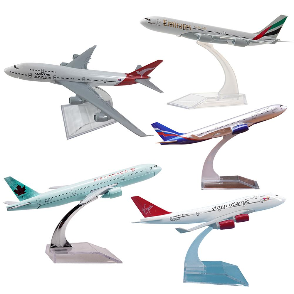 16 CM Airbus A320 A330 A340 A380 Boeing B737 B747 B777 B787 Airplanes Plane Model Diecast Aircraft Toys Airliner Model Kids Gift image