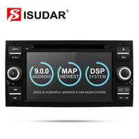 Isudar Car Multimedia Player Android 9 GPS Autoradio 2 Din 7 Inch For Ford/Mondeo/Focus/Transit/C MAX/S MAX/Fiesta 2GB RAM DVD